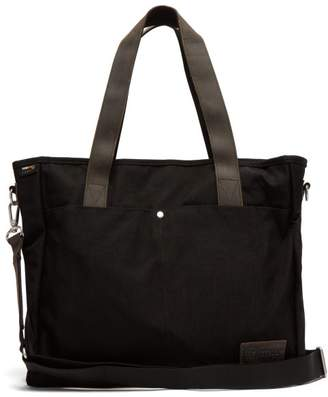 Eastpak Kerr Canvas And Leather Tote - Mens - Black
