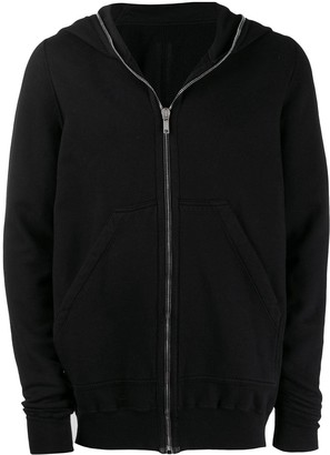 Rick Owens long-length zip hoody