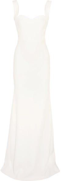 Victoria Beckham - Crepe Gown - White