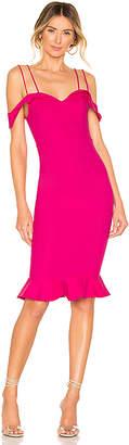 superdown Violette Bardot Midi Dress