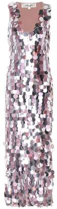 Diane von Furstenberg Embellished silk dress