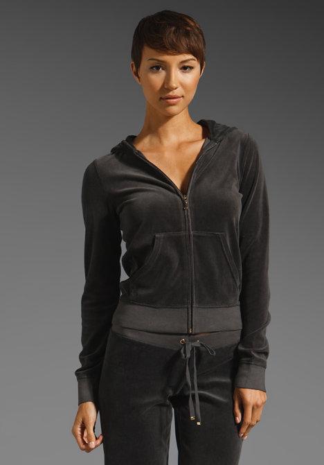 Juicy Couture Classic Velour Zip Hoodie