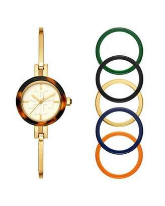 Tory Burch The Gigi Bangle Watch with Interchangeable Top Rings