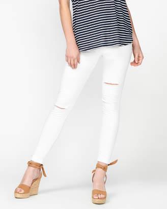 Bobbi Distressed Skinny Jeans