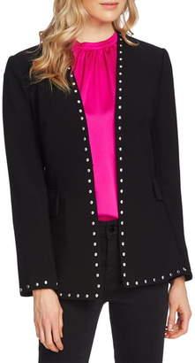 Vince Camuto Studded Stretch Crepe Jacket
