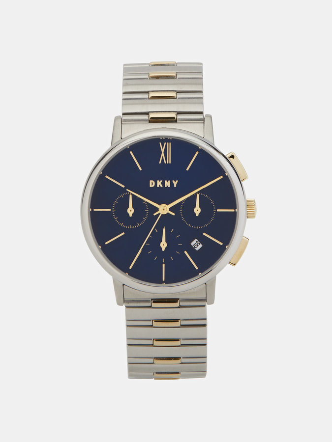 DKNY Willoughby 36mm Stainless Steel Two-Tone Chronograph Watch
