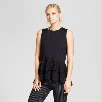 Who What Wear Women's Lace Mix Layered Tank Top - Who What Wear $22.99 thestylecure.com