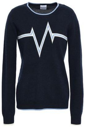 Madeleine Thompson Harlem Intarsia Wool And Cashmere-blend Sweater