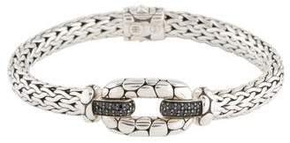 John Hardy Black Sapphire Kali Lava Bracelet