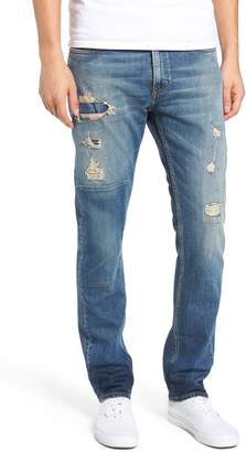 Calvin Klein Jeans Slim Patch Destroyed Jeans