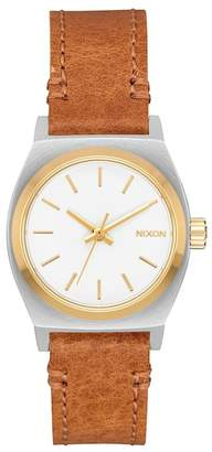 Nixon Women's Small Time Teller Miyota Quartz Watch, 26mm