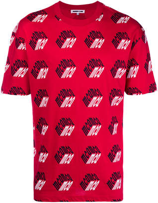 McQ Printed Cotton T-shirt