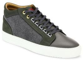 AndroidANDROID HOMME Leather Blend Sneakers
