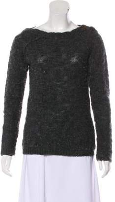 Humanoid Lightweight Wool Sweater Grey Lightweight Wool Sweater