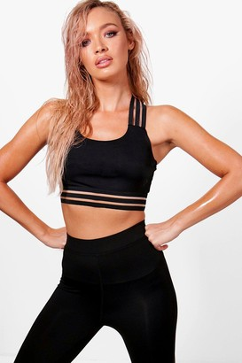 boohoo Fit Medium Support Sports Bra
