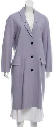 Burberry Virgin Wool Chesterfield Coat