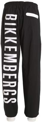 Bikkembergs Logo Printed Light Track Pants
