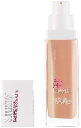 SET Value Pack of 2] Maybelline SuperStay Full Coverage Foundation [Buff Beige] 30mL [USA SELLER]