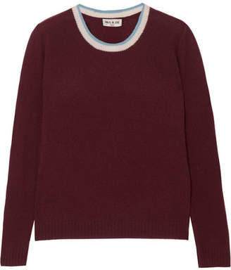 Paul & Joe Laloutre Cashmere Sweater - Burgundy
