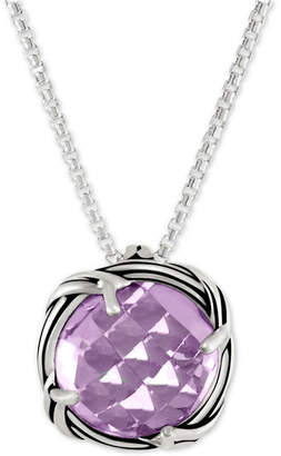 Peter Thomas Roth Lavender Amethyst Adjustable Pendant Necklace (4 ct. t.w.) in Sterling Silver