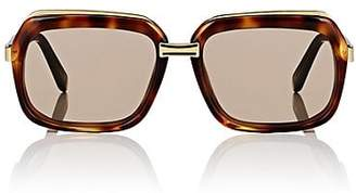Celine Women's Oversized Square Sunglasses - Brown