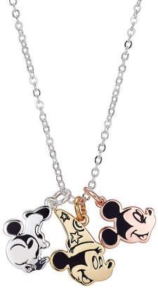 Disney Classics Womens Mickey Mouse Pendant Necklace