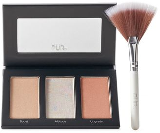 PUR Cosmetics Elevation Perfecting Highlighter Palette $15 thestylecure.com