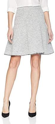 Ellen Tracy Women's Seamed Flare Skirt