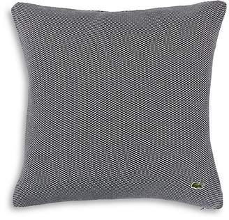 "Lacoste Quilted Pique Decorative Pillow, 20"" x 20"""