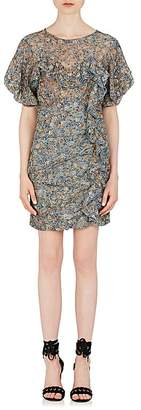 Isabel Marant Women's Face Floral Minidress