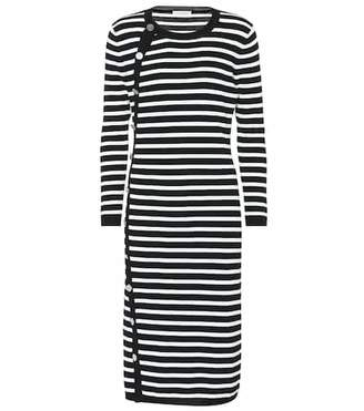 Altuzarra Striped midi dress