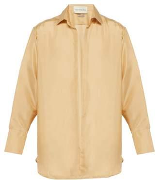 416d22fd76d47e BEIGE Ludovic De Saint Sernin - Silk Shirt - Mens
