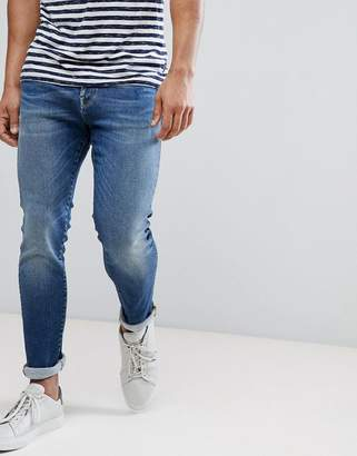 Selected Stretch Slim Fit Jeans Made In Italy
