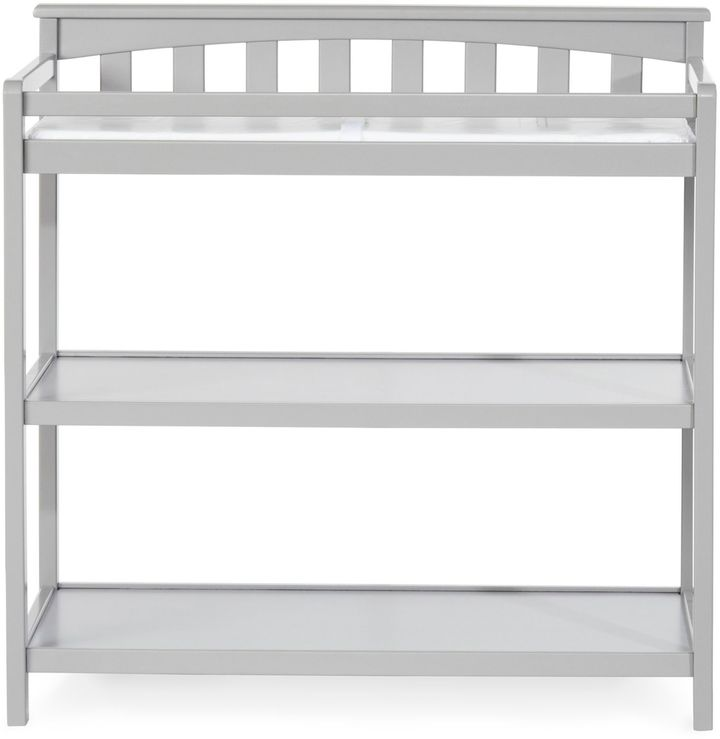 Child CraftChild CraftTM London Euro Flat Top Changing Table in Cool Grey