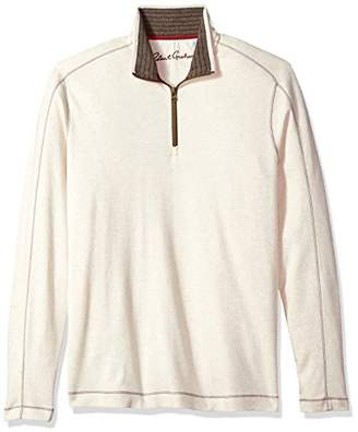 Robert Graham Men's Elia Long Sleeve Knit 1/4 Zip