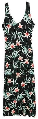 MANGO Printed bow dress