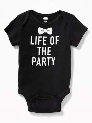 Old Navy Graphic Jersey Bodysuit for Baby