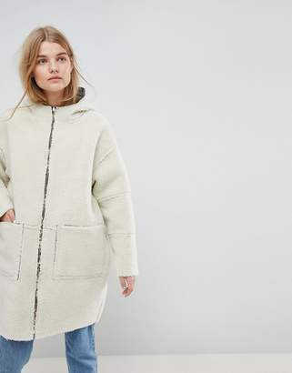 Asos MADE IN Made In Kenya Reversible Teddy Fur Parka