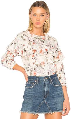 Rebecca Taylor Lua Ruffle Sweater