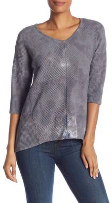 XCVI 3\u002F4 Sleeve Knit Top