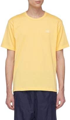 Acne Studios 'Nash Face' patch T-shirt