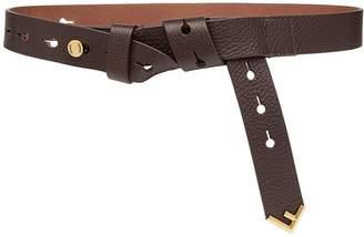 Fendi wrap skinny belt