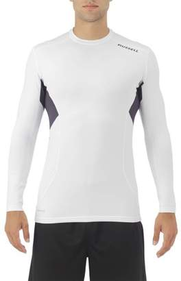 Russell Big Men's Long Sleeve Cold Compression Crew Neck