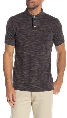 Lindbergh Space Dyed Pique Polo