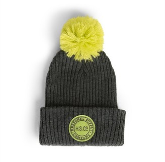 Herschel Supply Company Ltd Sepp Beanie Youth Charcoal and Primrose