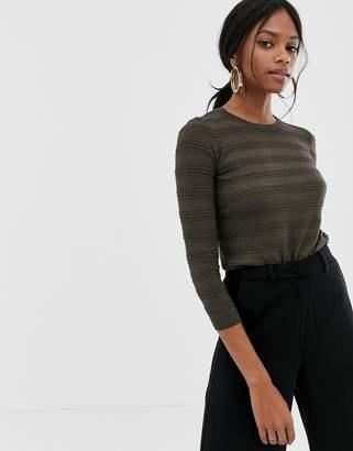 Warehouse linear stitch jumper