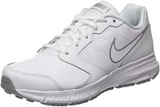 san francisco 14934 8c3b3 Nike Kids' Downshifter 6 LTR (GS/PS) Running Shoes White-Wolf