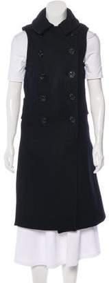 Nlst Wool Longline Vest