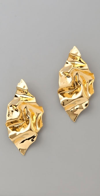 Alexis Bittar Crumbled Earrings