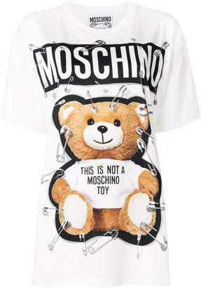 Moschino teddy bear printed T-shirt